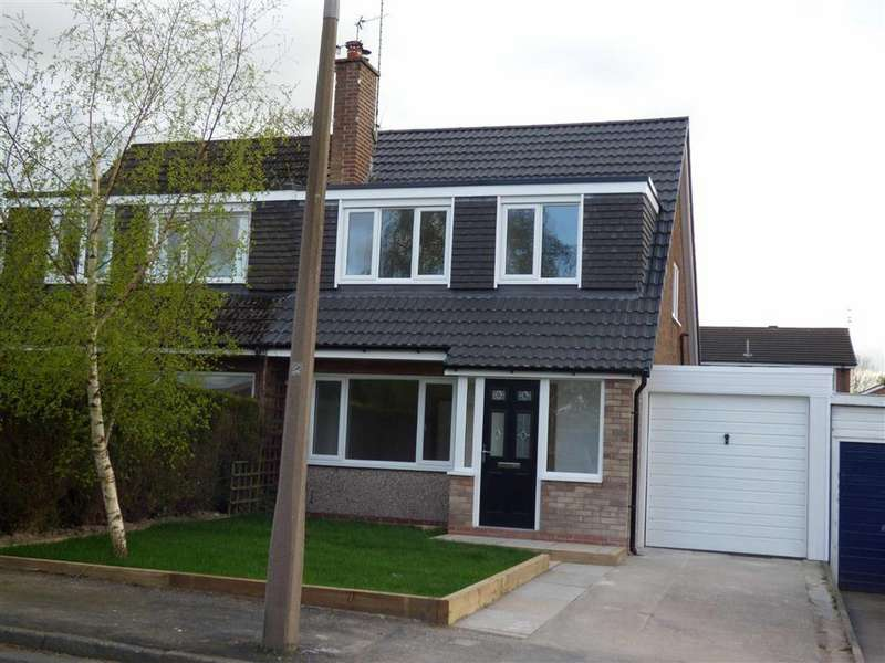 3 Bedrooms Semi Detached House for sale in Fairhaven Close, Bramhall, Cheshire