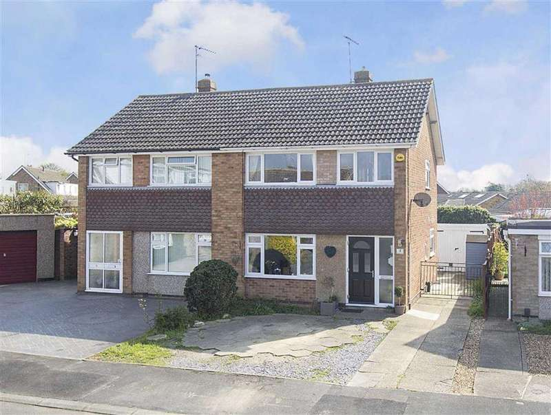 3 Bedrooms Semi Detached House for sale in St Marks Close, Kettering