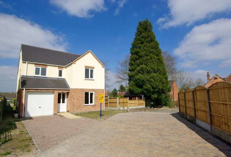 3 Bedrooms Detached House for sale in Main Street, Rosliston