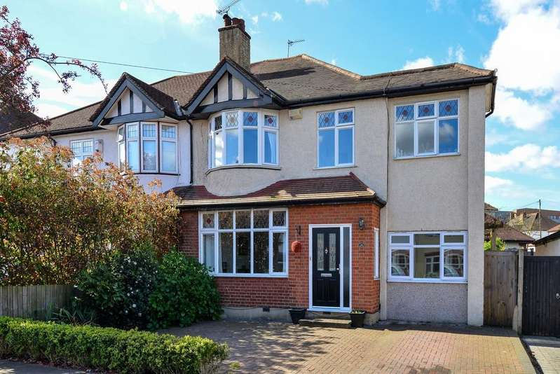 4 Bedrooms Semi Detached House for sale in Croft Avenue West Wickham BR4