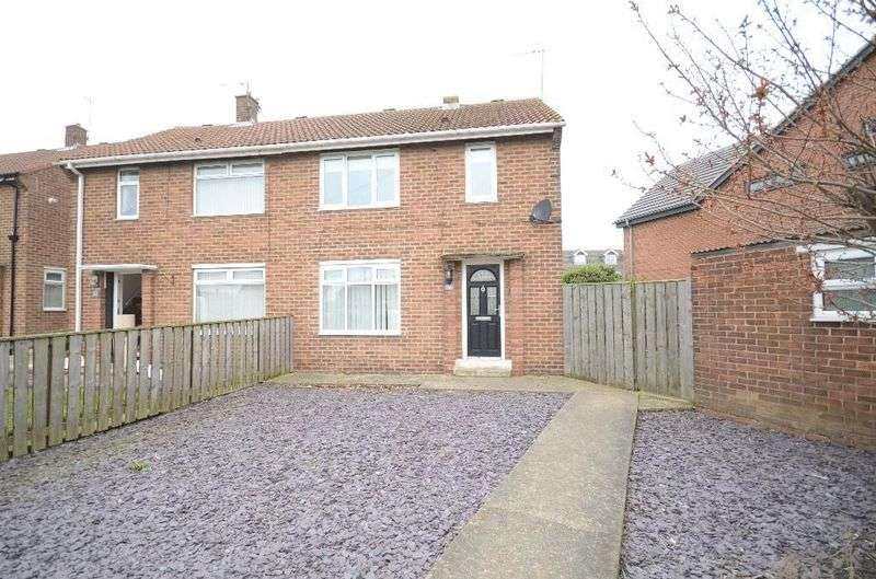 2 Bedrooms Semi Detached House for sale in Dene Way, Seaham
