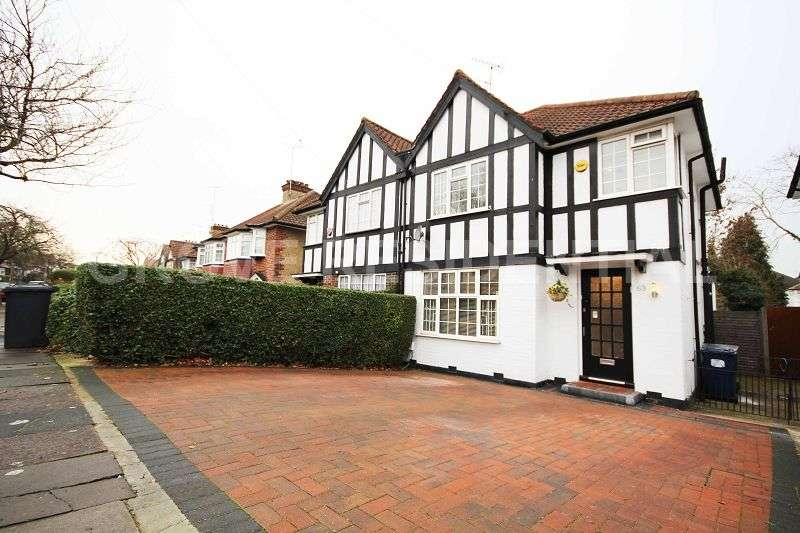 3 Bedrooms Semi Detached House for sale in Farm Road, Edgware