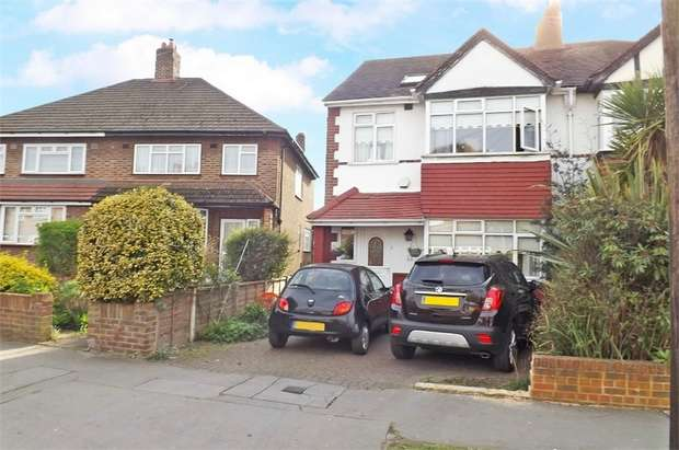 4 Bedrooms Semi Detached House for sale in Ash Tree Way, Croydon, Surrey