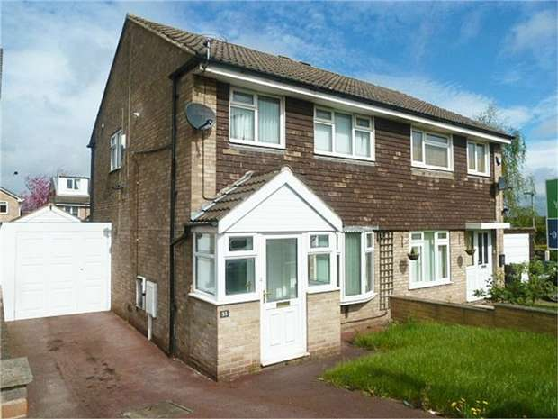 3 Bedrooms Semi Detached House for sale in Chapelfield Drive, Thorpe Hesley, Rotherham, South Yorkshire