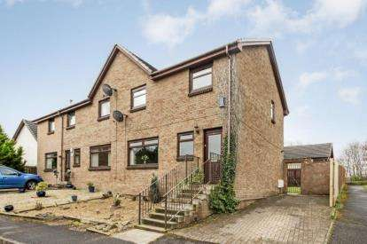3 Bedrooms Semi Detached House for sale in Fencedyke Close, Bourtreehill North, Irvine, North Ayrshire