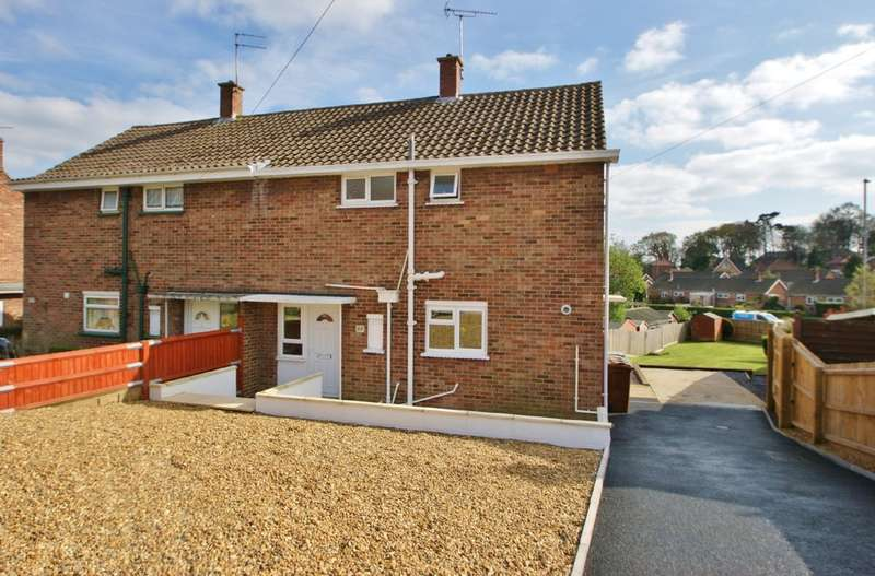 3 Bedrooms Semi Detached House for sale in Birkbeck Way, Norwich