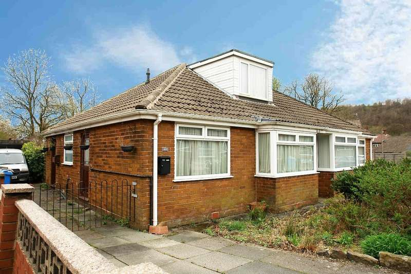 3 Bedrooms Semi Detached Bungalow for sale in 26 Shore Avenue, Shaw