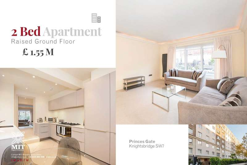 2 Bedrooms Apartment Flat for sale in Princes Gate, Knightsbridge