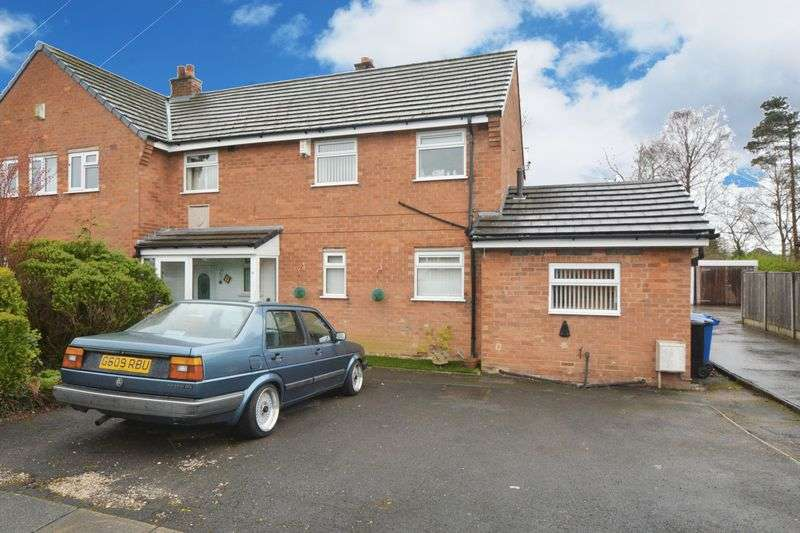 3 Bedrooms Semi Detached House for sale in Hambleton Road, Heald Green, Cheadle