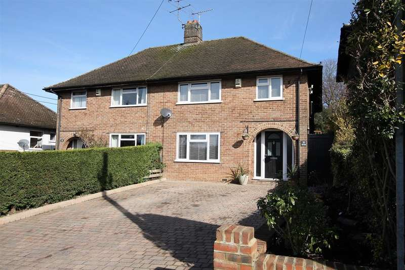 3 Bedrooms Semi Detached House for sale in First Avenue, Amersham, Buckinghamshire, HP7 9BJ