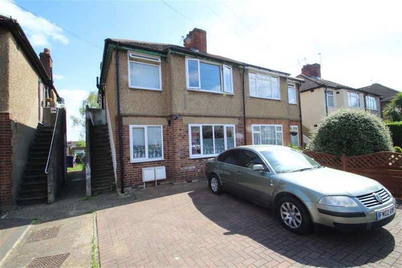 2 Bedrooms Maisonette Flat for sale in Braund Avenue, Greenford, Middlesex