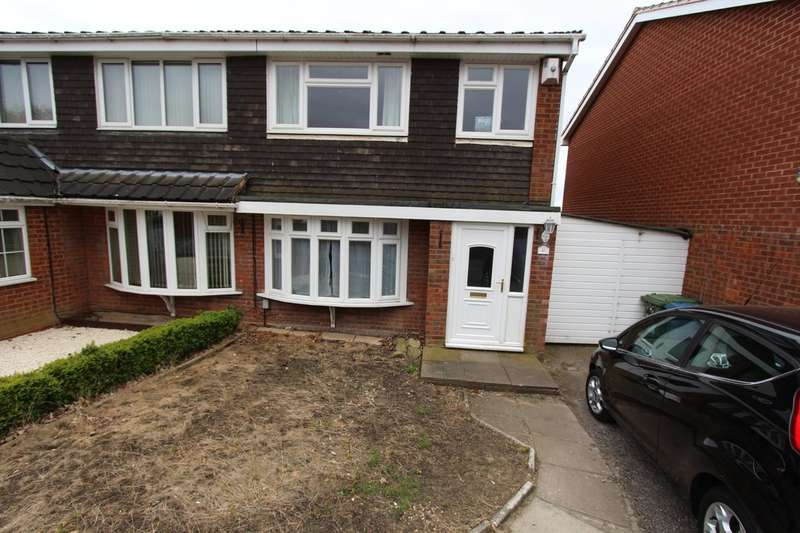 3 Bedrooms Semi Detached House for sale in Grassholme, Stoneydelph