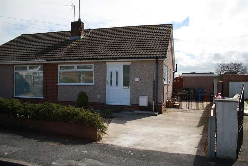 2 Bedrooms Semi Detached Bungalow for sale in Ascot Drive, Rhyl