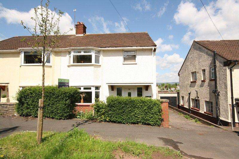 3 Bedrooms Semi Detached House for sale in Gaer Park Lane, Newport, Newport. NP20 3NE