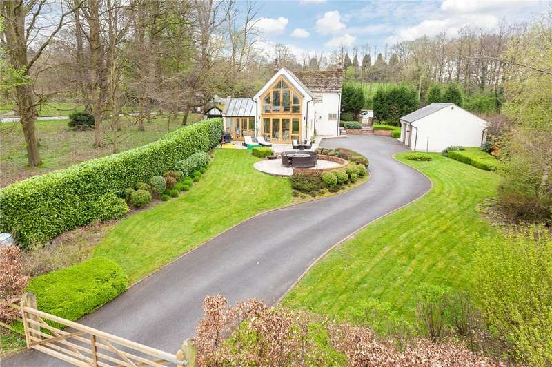 4 Bedrooms Detached House for sale in Wilmslow Road, Mottram St Andrew, Macclesfield, Cheshire, SK10
