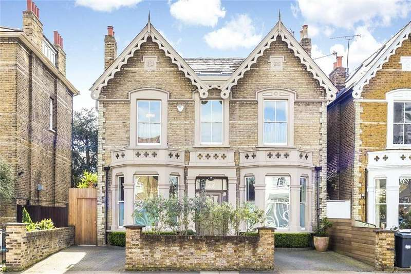 5 Bedrooms Detached House for sale in Wellesley Road, Chiswick, London, W4