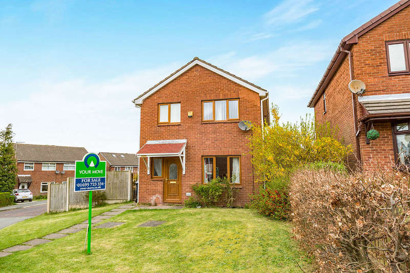 4 Bedrooms Detached House for sale in Foxfold, Skelmersdale, WN8
