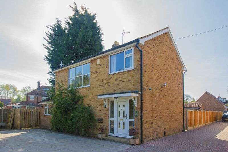 3 Bedrooms Detached House for sale in Danebury Crescent, York