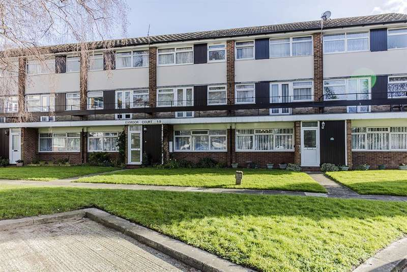 2 Bedrooms Maisonette Flat for sale in Exmoor Court, Exmoor Drive, Worthing, BN13 2JL