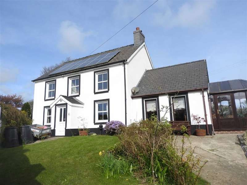 3 Bedrooms Detached House for sale in Eglwyswrw