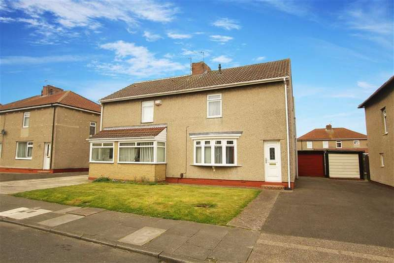3 Bedrooms Semi Detached House for sale in Park Avenue, Shiremoor