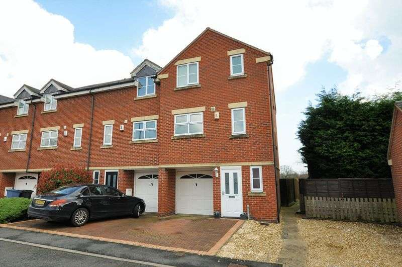 4 Bedrooms Terraced House for sale in Pegg Court, Anslow