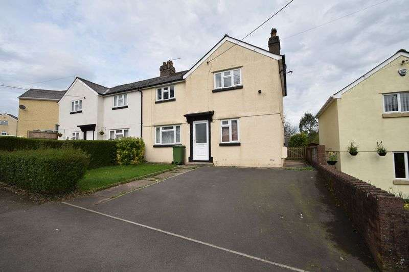 3 Bedrooms Semi Detached House for sale in Woodfield Road, New Inn, Pontypool