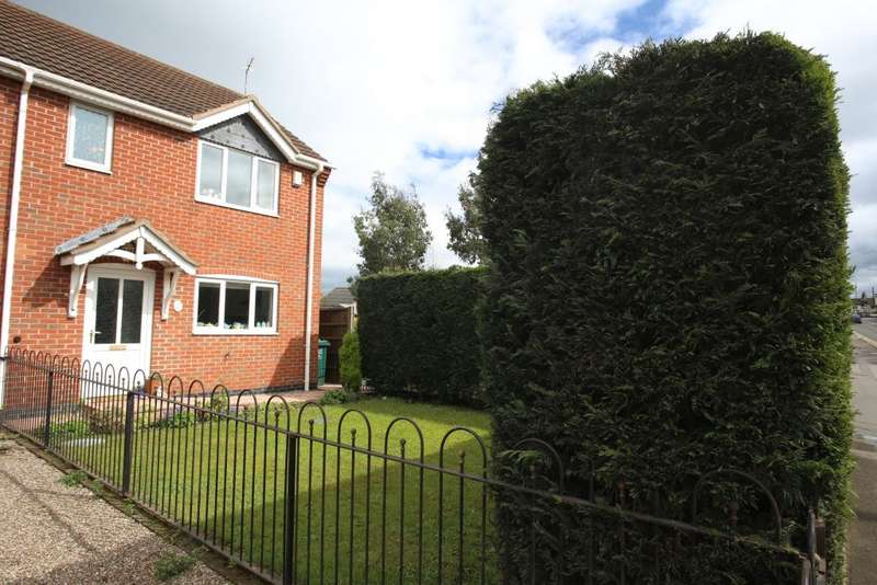 3 Bedrooms Semi Detached House for sale in Majolica Mews, Swadlincote, Derbyshire DE11 7EP