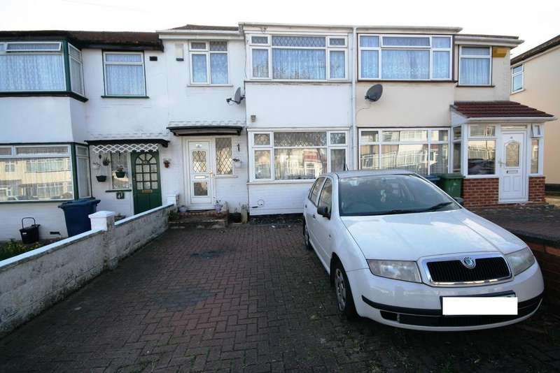 3 Bedrooms Terraced House for sale in Dean Drive, Stanmore HA7