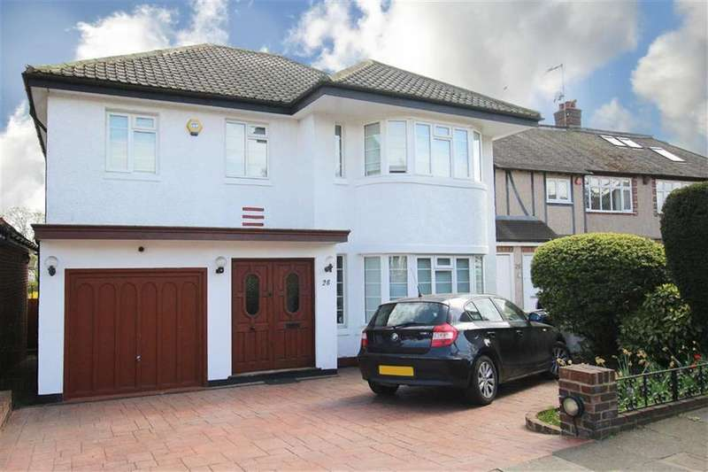 4 Bedrooms Detached House for sale in St James Avenue, Whetstone, London