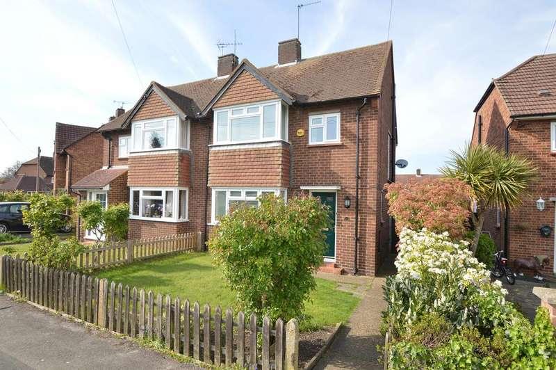 3 Bedrooms Semi Detached House for sale in Trenchard Close, HERSHAM VILLAGE KT12