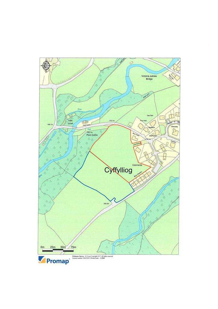 Plot Commercial for sale in Cyffylliog, Ruthin