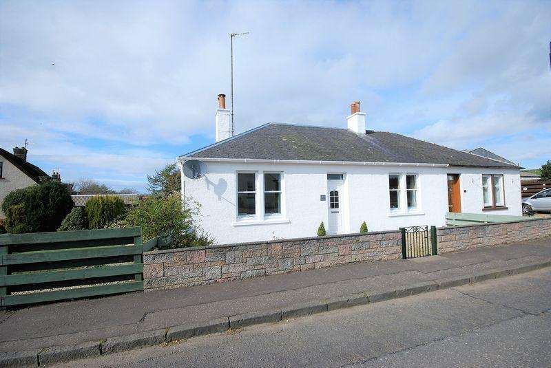 2 Bedrooms Semi Detached Bungalow for sale in 45 Kirkmichael Road, Crosshill, KA19 7RJ