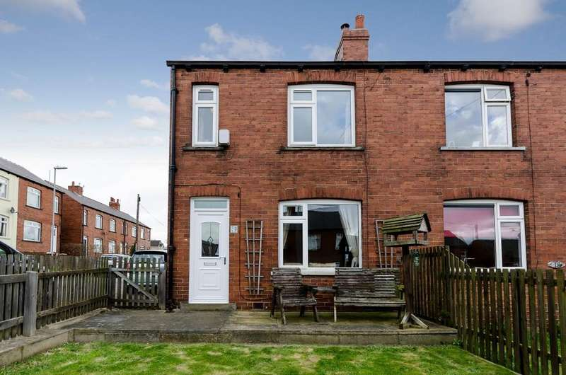2 Bedrooms Semi Detached House for sale in Parkside, Flockton