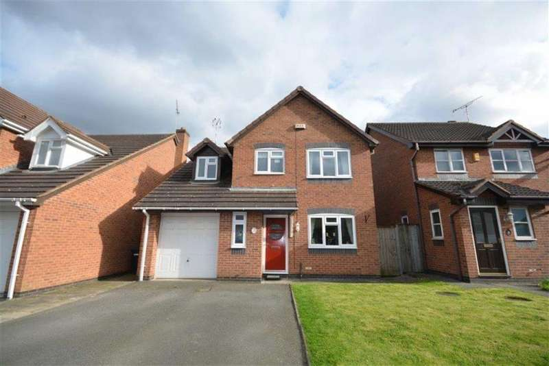 4 Bedrooms Detached House for sale in Baseley Way, Coventry