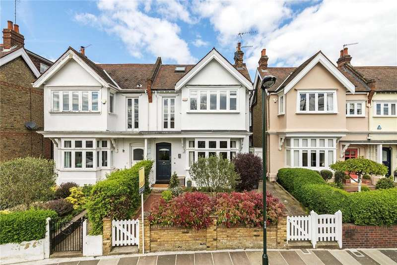 6 Bedrooms Semi Detached House for sale in Vicarage Road, London, SW14