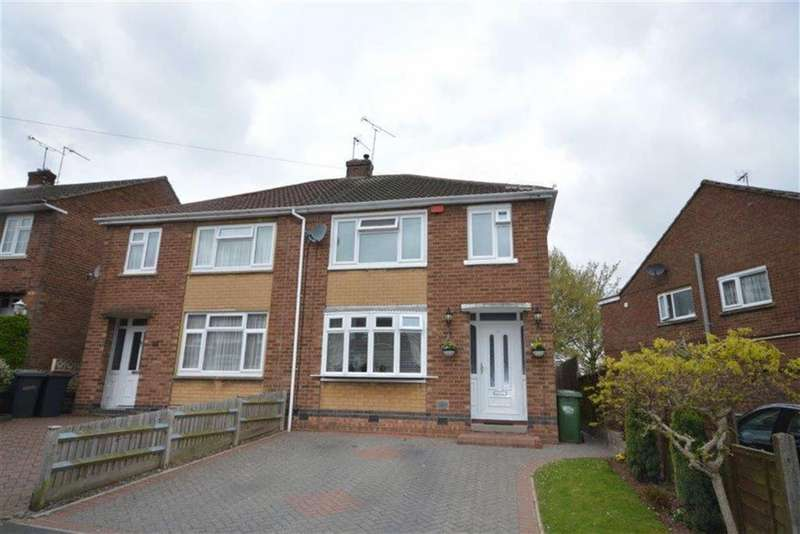 3 Bedrooms Semi Detached House for sale in Deans Way, Coventry