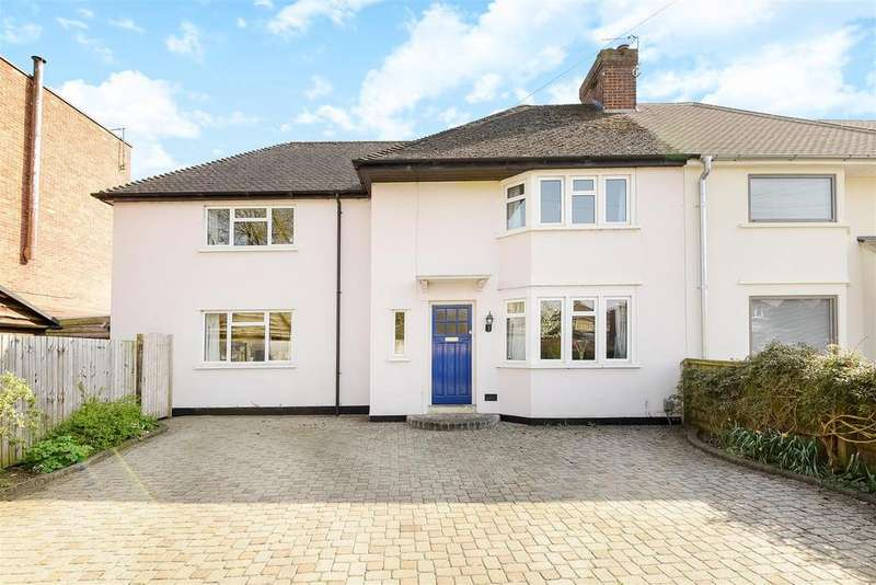 4 Bedrooms Semi Detached House for sale in Godstow Road, Wolvercote