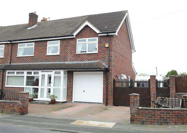 4 Bedrooms Semi Detached House for sale in 2 School Lane, Irlam M44 6NT