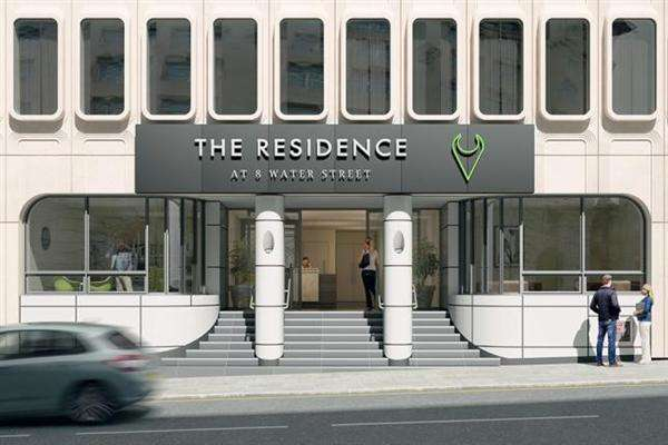 2 Bedrooms Apartment Flat for sale in The Residence Water Street, Liverpool