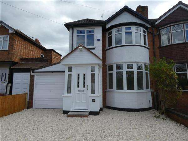 3 Bedrooms Semi Detached House for sale in Cranes Park Road, Sheldon, Birmingham