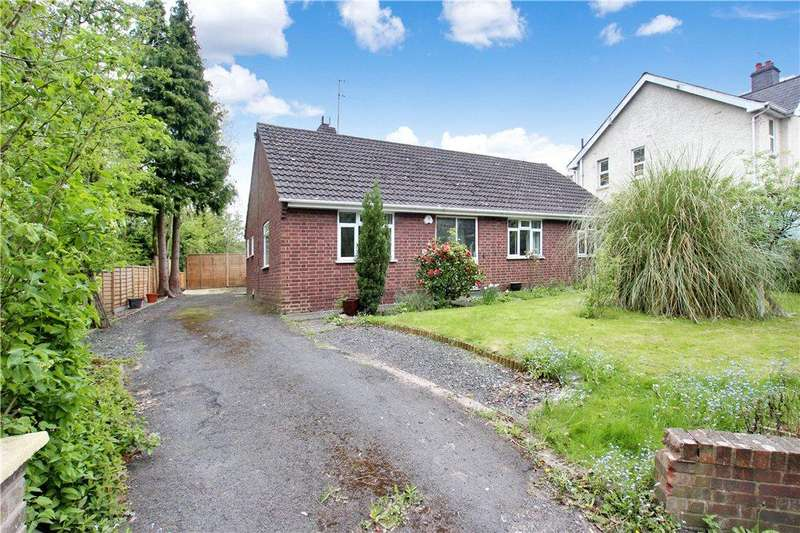 3 Bedrooms Detached Bungalow for sale in Worcester Road, Malvern, Worcestershire, WR14