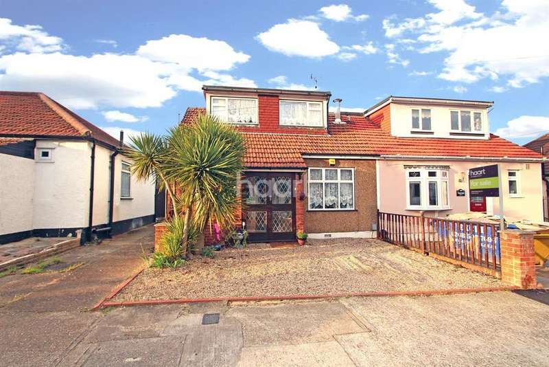 3 Bedrooms Bungalow for sale in Hillview Avenue, Hornchurch