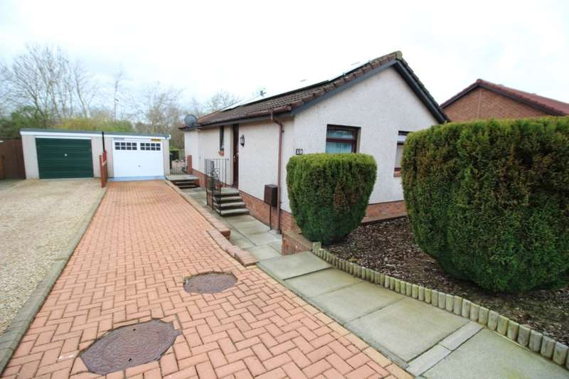 2 Bedrooms Detached Bungalow for sale in Cornhill Road, GLENROTHES, KY7