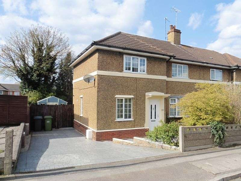 3 Bedrooms Semi Detached House for sale in Periwinkle Lane, Dunstable