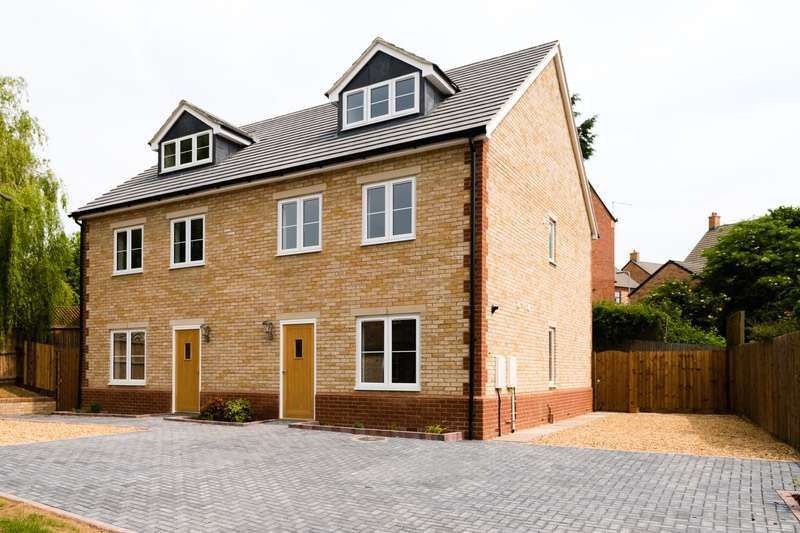 4 Bedrooms Semi Detached House for sale in High Street, Bozeat, Northamptonshire, NN29