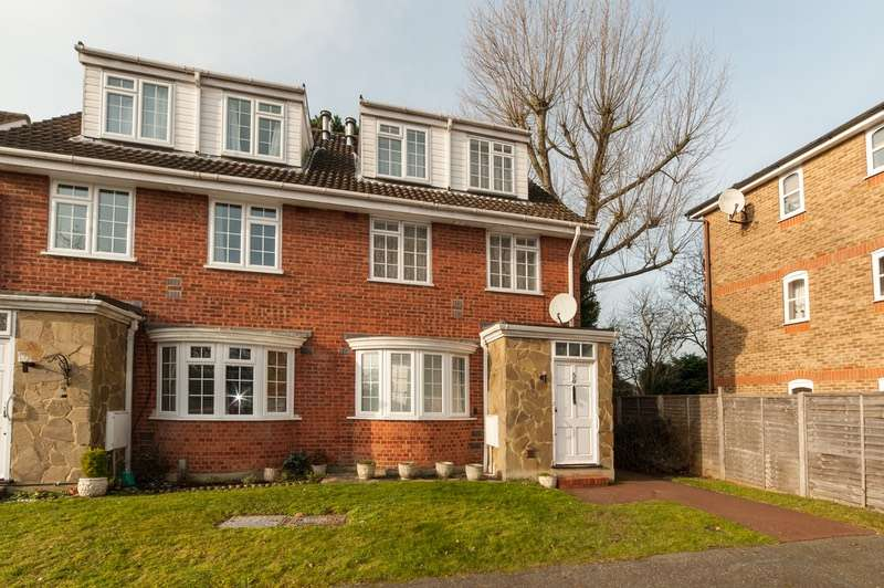 1 Bedroom Maisonette Flat for sale in RedHeath close, Watford, Hertfordshire, WD25