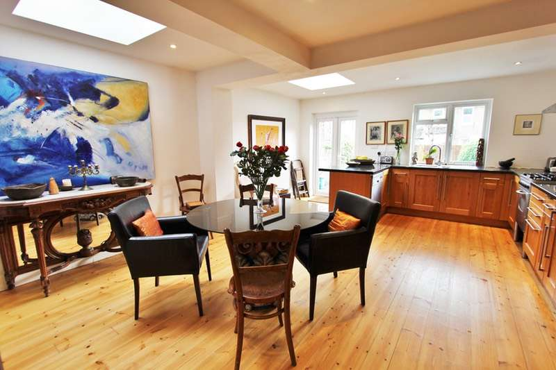 5 Bedrooms Semi Detached House for sale in Shakespeare Rd, London, London, W3