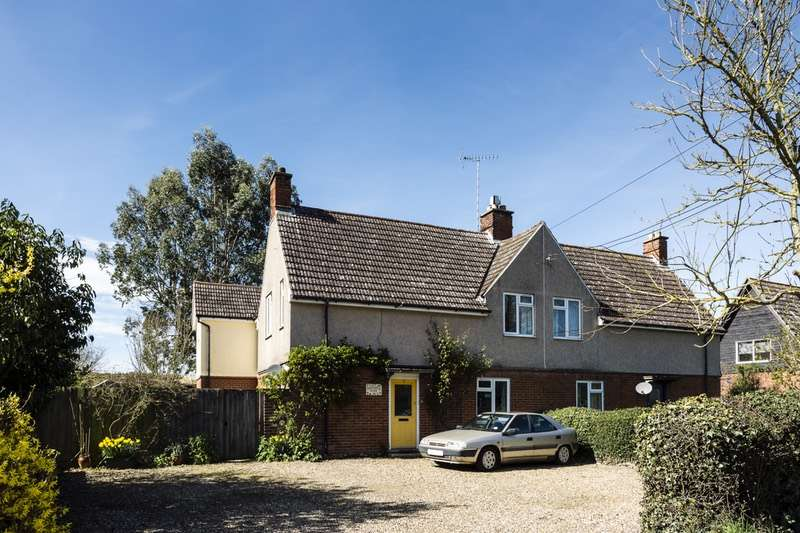 3 Bedrooms Semi Detached House for sale in New Road, Tostock, Suffolk, IP30