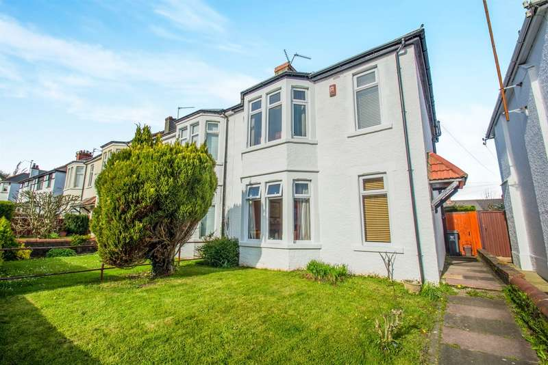 3 Bedrooms Semi Detached House for sale in Aubrey Avenue, Cardiff